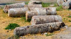 Ruins Of Hierapolis Royalty Free Stock Photos