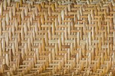 Free Bamboo Basketry. Royalty Free Stock Images - 23269879