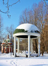 Free Gazebo In  Park Stock Images - 23272714