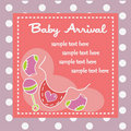Free Baby Arrival For Girls Royalty Free Stock Images - 23276369