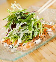 Free Smoked Salmon Salad Stock Images - 23271714