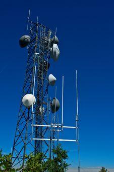 Free Radio Tower Royalty Free Stock Photos - 23271998
