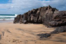 Free Coast Of Fuerteventura Royalty Free Stock Photo - 23275185
