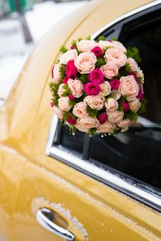 Free Wedding Bouquet Of Limousine Royalty Free Stock Images - 23277299