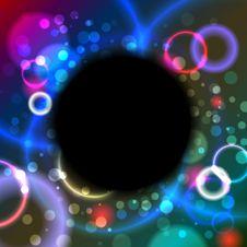 Free Abstract Black Circle Stock Photos - 23279193