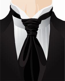 Free Stylized Background With Cravat Royalty Free Stock Photos - 23279298