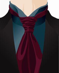 Free Stylized Background With Cravat Royalty Free Stock Photo - 23279305
