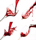 Free Collage Of Wine Shots Stock Photo - 23289800