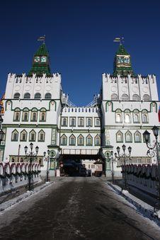 Free Russia, Moscow. Kremlin In Izmailovo. Stock Image - 23282071
