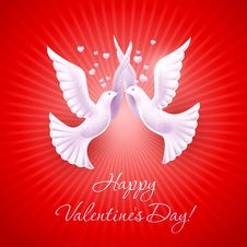 Free Background On Valentine S Day Royalty Free Stock Photo - 23283155
