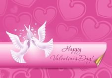 Free Background On Valentine S Day Stock Images - 23283174