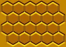 Free Honey Honeycomb Stock Image - 23284201