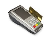 Free Credit Card Reader Royalty Free Stock Photo - 23285055