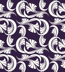 Free Seamless Floral Pattern Royalty Free Stock Photos - 23285078