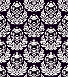 Free Floral Seamless Pattern Royalty Free Stock Photography - 23285087