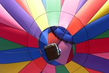 Free Hot Air Balloon At Albuquerque Balloon Fiesta Stock Photography - 23287682
