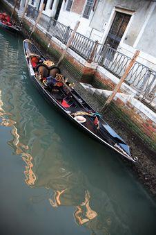 Free Venetian Gondola Royalty Free Stock Photo - 23288305