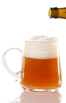 Free Beer Mug Stock Image - 23289711