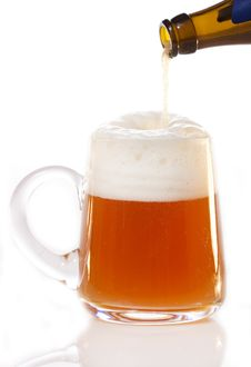 Free Beer Mug Stock Photography - 23289712
