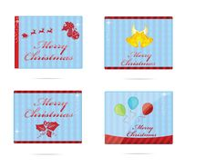 Free Xmas And New Year Sign Set Stock Photography - 23289882