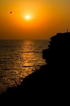 Free Sunset At Crimea Stock Photos - 23290093