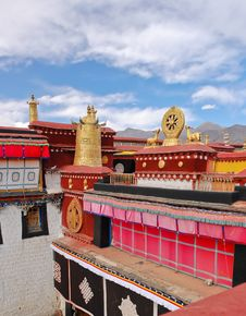 Free Jokhang Temple Stock Images - 23290984