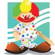 Free Cute Clown Stock Image - 23293021