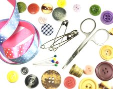 Free Accessory Of The Tailor Stock Photo - 23294380