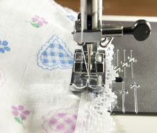 Free Sewing Machine Detail Stock Images - 23294394