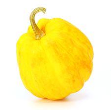 Free Yellow Pumpkin Royalty Free Stock Photography - 23294907