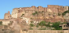 Fort In Jodhpur, India Stock Photography
