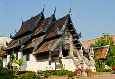 Building In A Temple Thailand Royalty Free Stock Photography