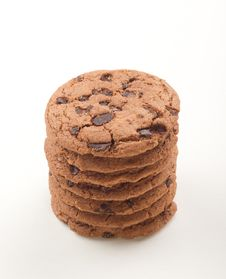Free Chocolate Cookies Royalty Free Stock Images - 23298099