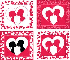 Free Valentines Day Card Stock Photo - 23299810