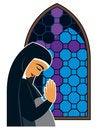 Free Praying Woman Stock Image - 2331401