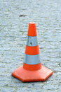 Free Orange Traffic Cone Royalty Free Stock Photo - 2333625