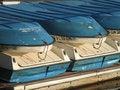 Free Stacked Row Boats Stock Photos - 2333803