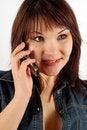 Free Phone Woman 14 Stock Photo - 2337100