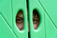 Man Eyes Stock Image