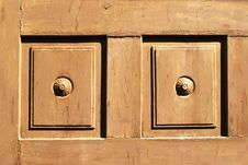 Free Wooden Door Royalty Free Stock Photography - 2330937