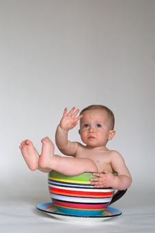 Free A Cup Of Baby Stock Photos - 2332123