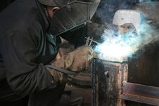 Free Welder Royalty Free Stock Photography - 2332587