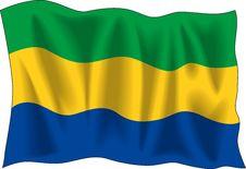 Free Gabon Flag Royalty Free Stock Image - 2333076