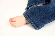 Free Cute Toddler Foot Royalty Free Stock Photo - 2333445