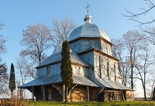 Free Old Orthodox Church In Ukraine Royalty Free Stock Photography - 2333567