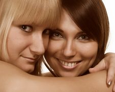 Free Two Young Women Stock Photos - 2335073