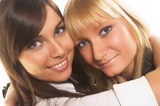 Free Two Young Women Stock Photo - 2335090