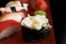 Free Japanes Rolls Royalty Free Stock Image - 2335156