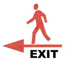 Free Exit Sign Stock Image - 2336031