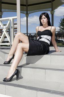 Free Model In Dress Stock Photo - 2336590